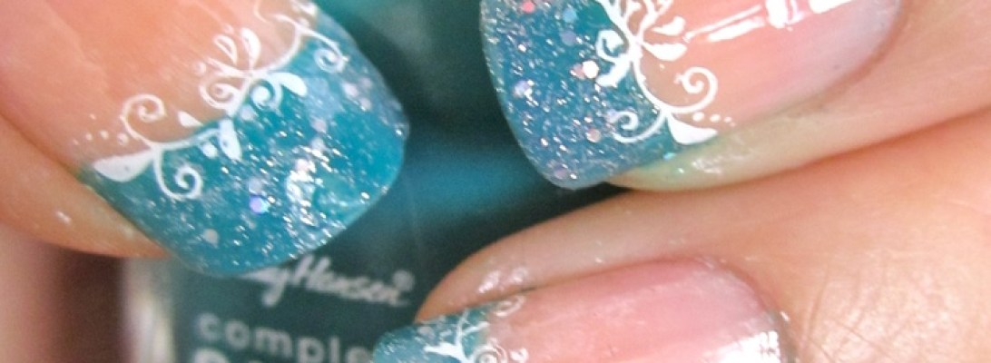 Teal French Tips Fmag Com