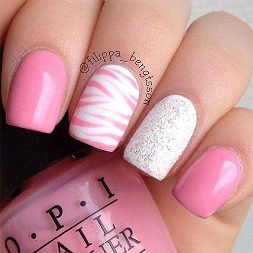 84 Perfect Pink Nails Designs To Look Amazing Girly Fmag