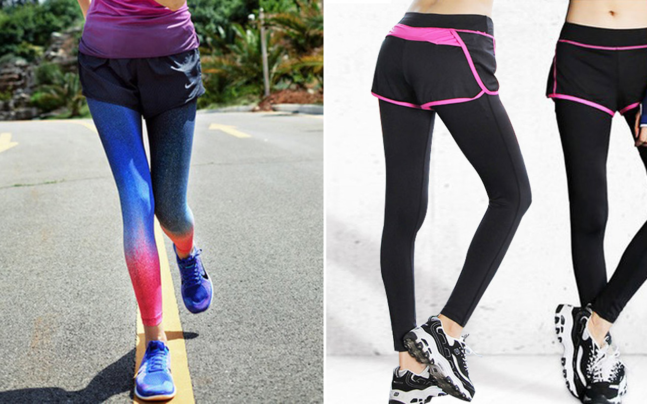20e5c9047279e Running Tight under Shorts: Pretty Jogging Outfit Ideas - FMag.com
