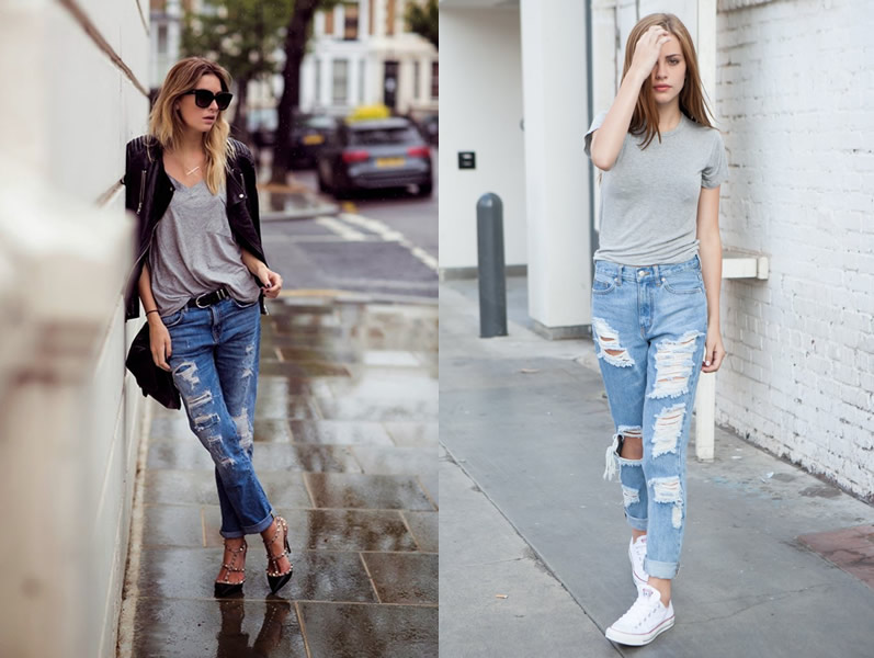 Fashion Jeans For Ladies