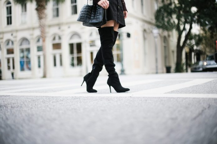 best thigh high boots outfit ideas
