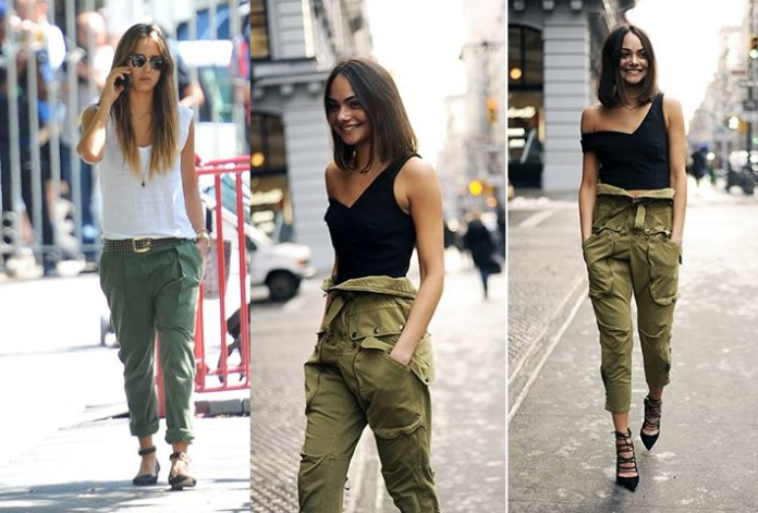 cargo pants women how to wear