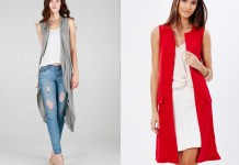 best long sleeveless cardigan outfit ideas