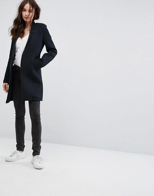skinny jeans sneakers longline blazers