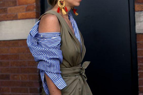 dress cold shoulder top