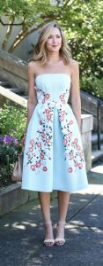 garden party dress elegant