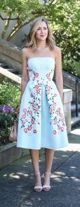 garden party dress elegant