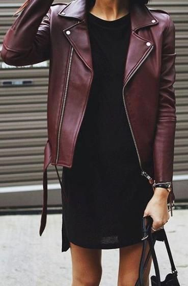 shift dress burgundy