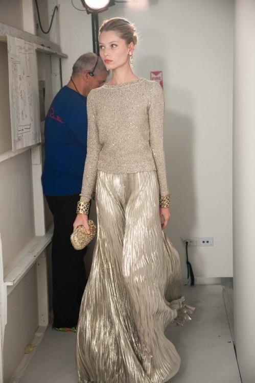 gold skirt maxi
