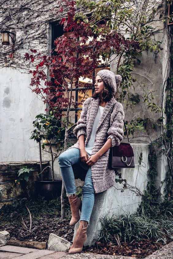 mid calf boots long sweater