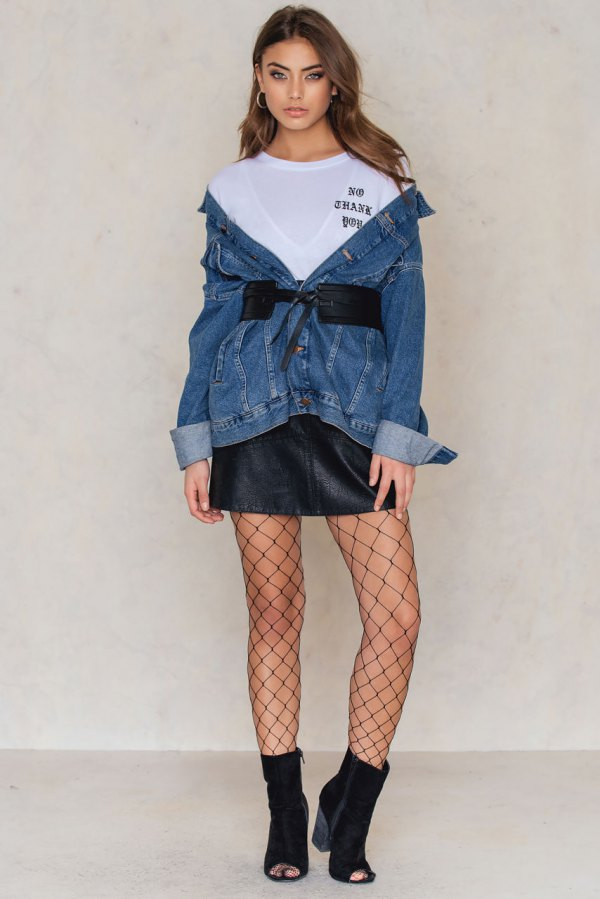 well known outlet sale unbeatable price How to Wear Fishnet Tights with Class: Outfit Ideas - FMag.com