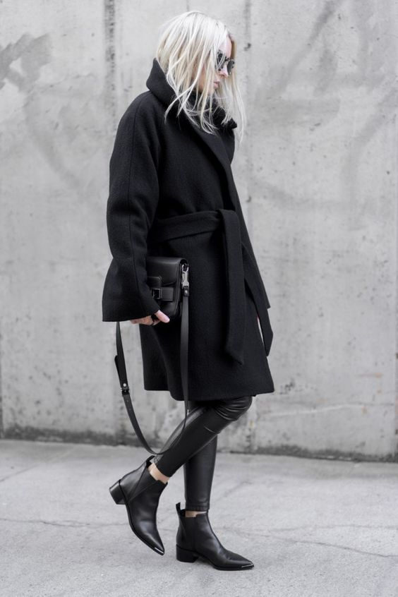 chelsea boots all black everything