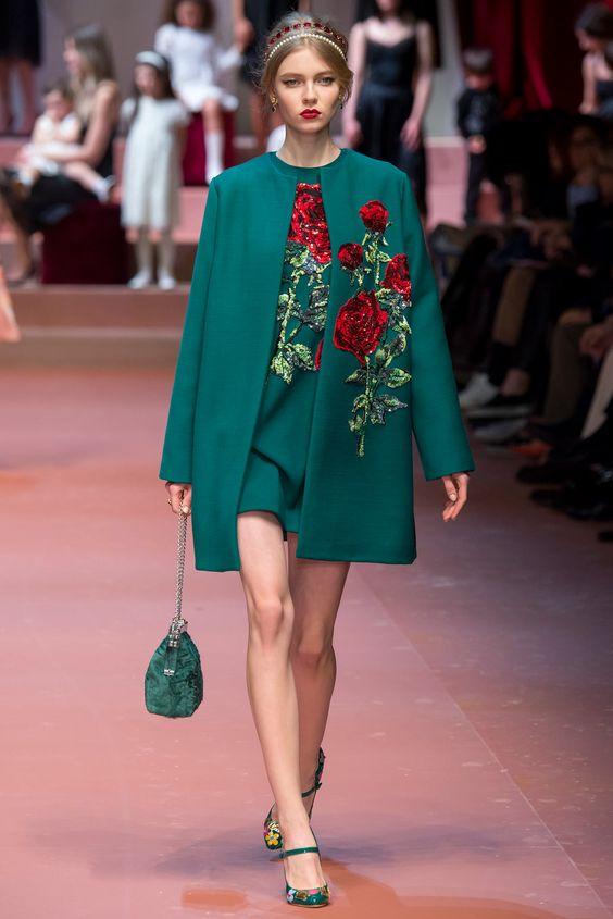 emerald green dress coat