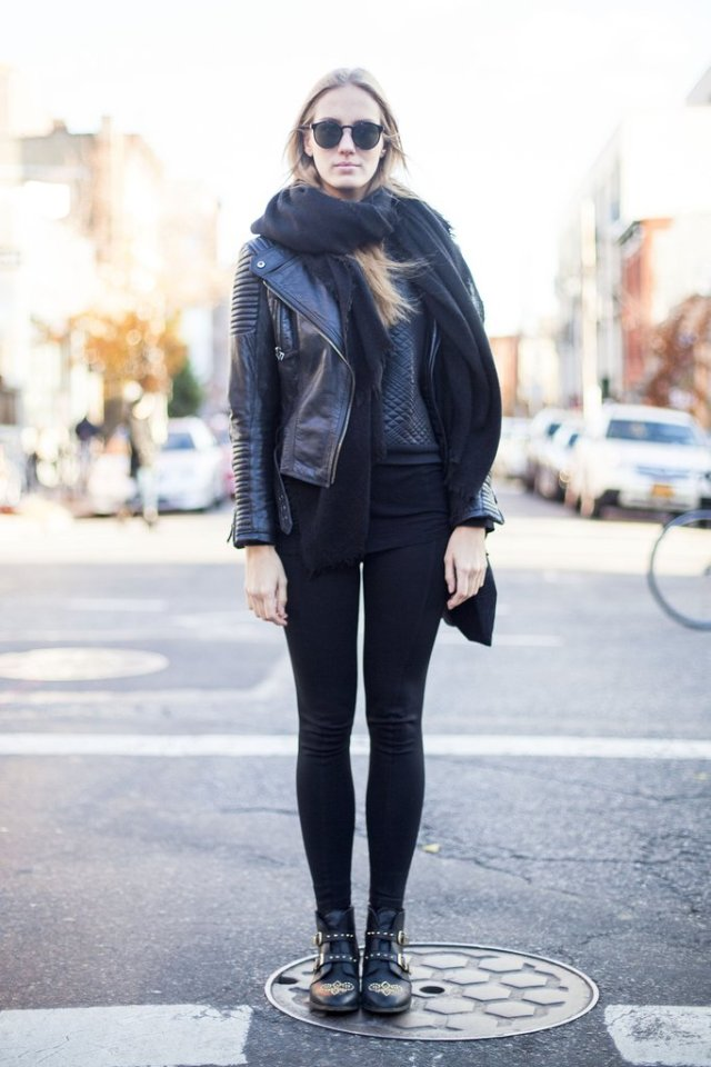 leggings to work leather