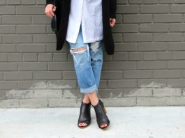 open toe booties outfit ideas
