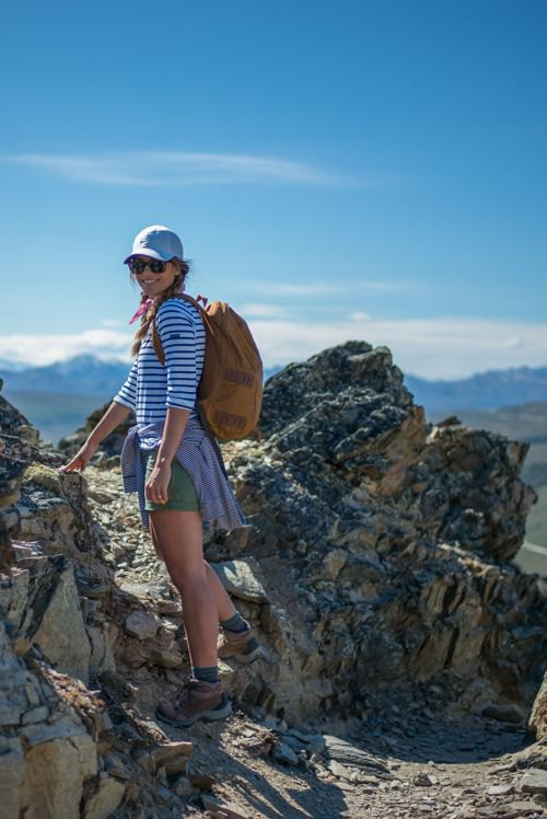 plain mountain hiking outfit for girls 18