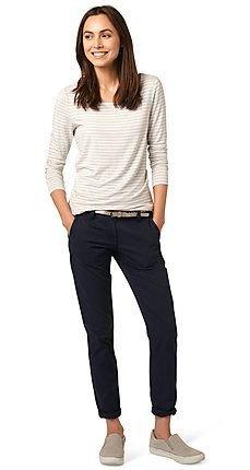 black chino white light grey striped t shirt