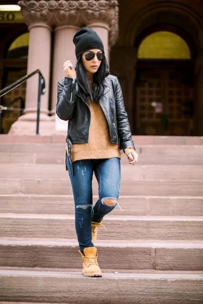 How to Wear Timberland Boots for Women: Top Outfit Ideas ...