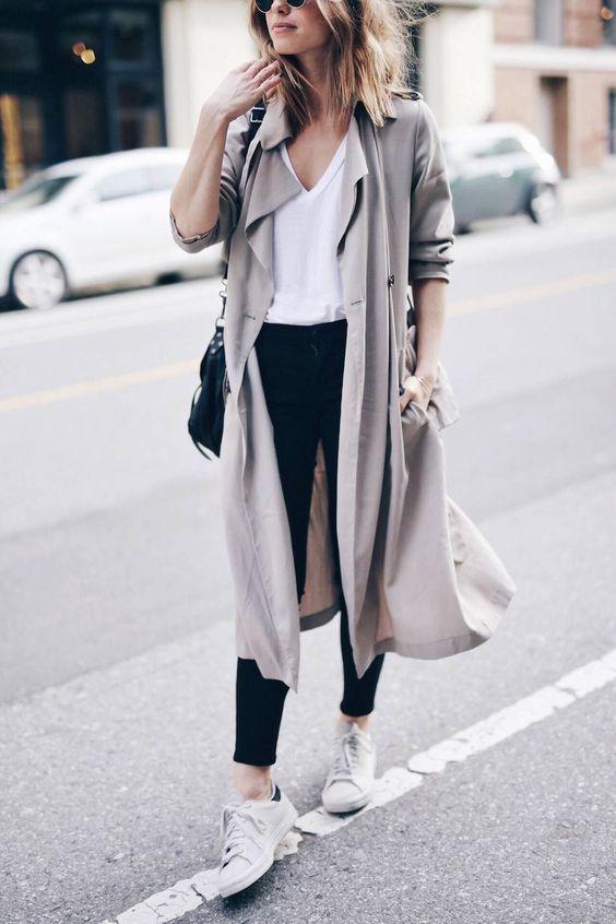 duster jacket minimal