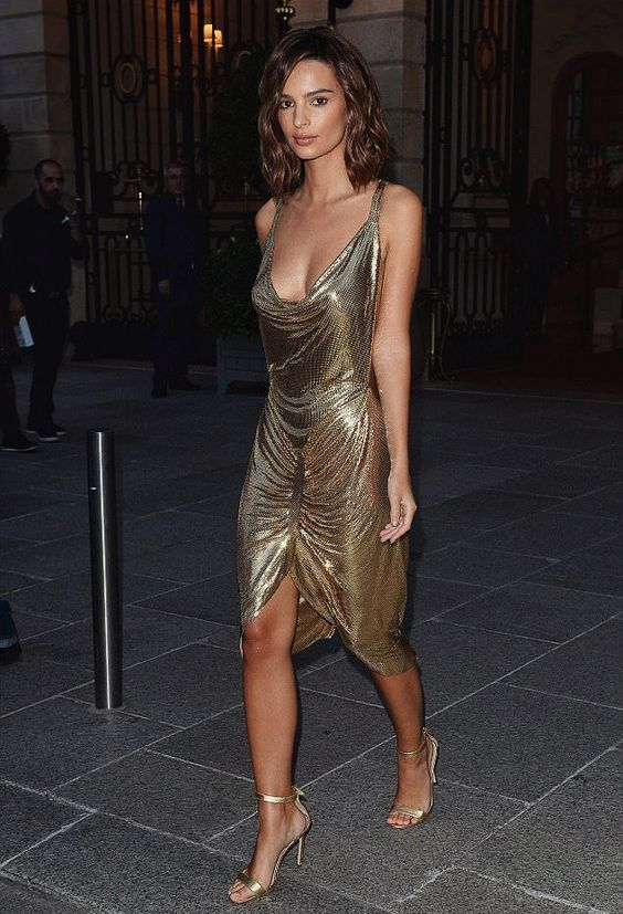 Gold Cocktail Dress: Prepare For Holiday Party Season - FMag.com