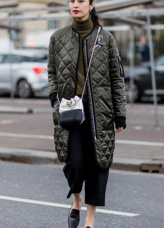 khaki jacket long