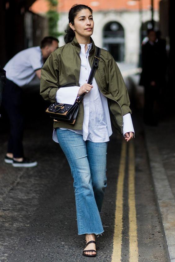 khaki jacket regular