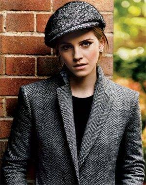 tweed blazer flat cap set
