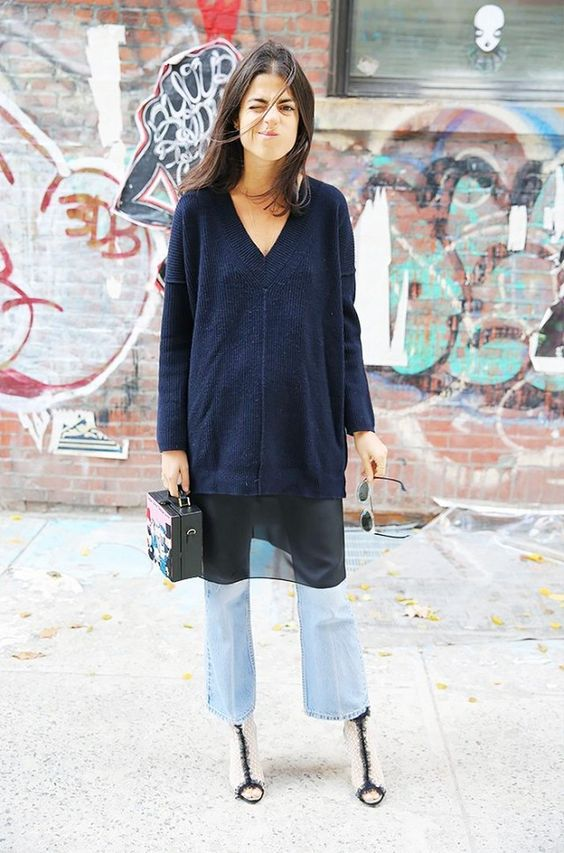 v neck sweater layers