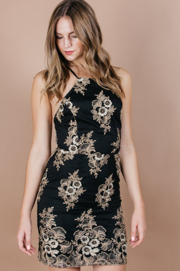best black and gold dress outfits