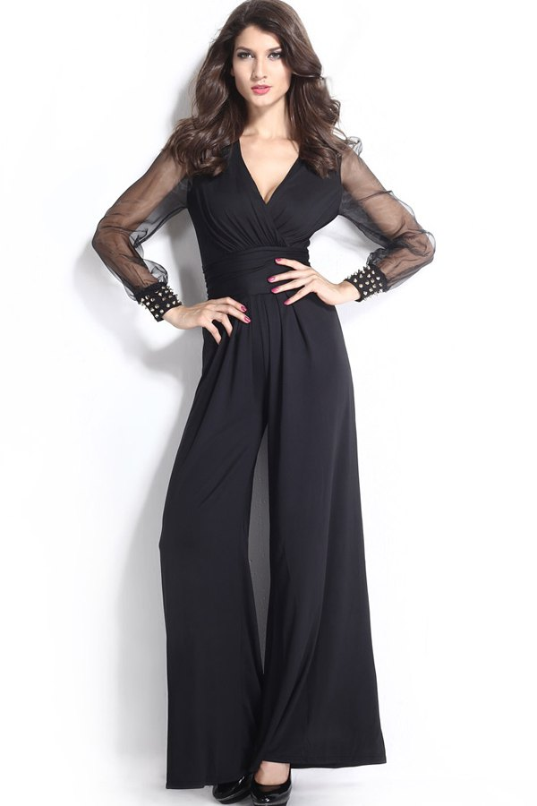 50d21e7a7cfaf 15 Long Sleeve Jumpsuit Outfit Ideas for Parties & Proms - FMag.com