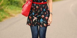 best tunic dress with jeans outfits