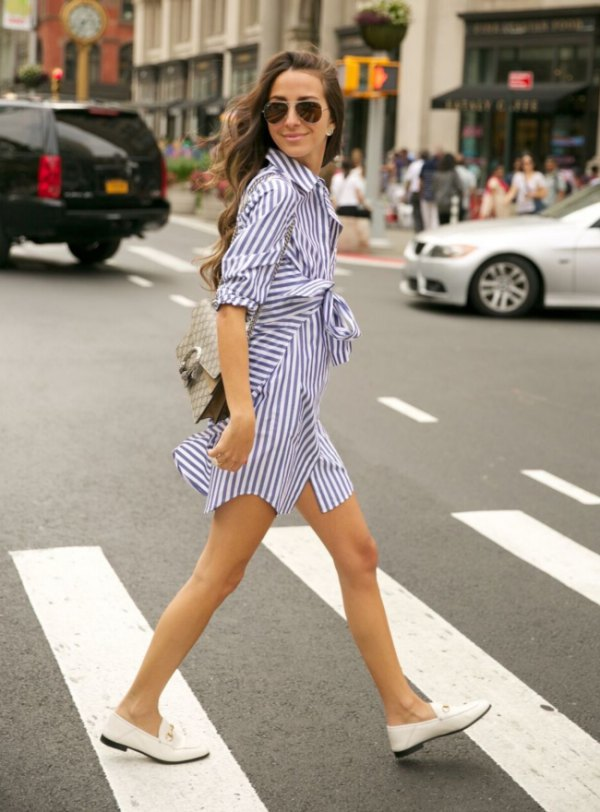 How to Style White Loafers for Women