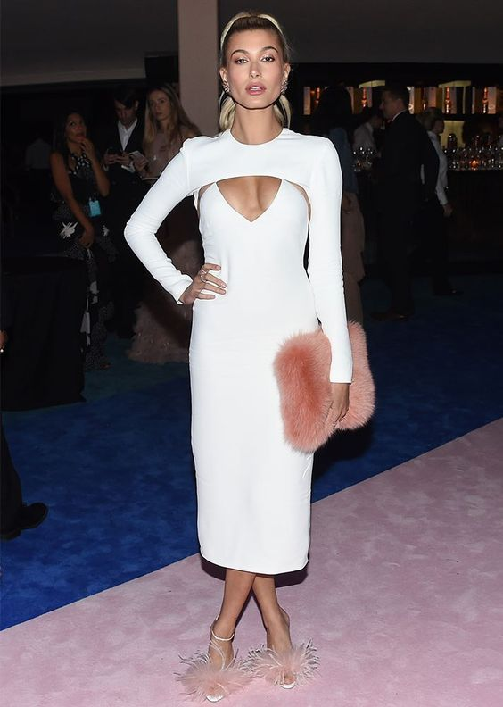 white cut out dress bodycon