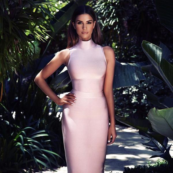 pink bandage dress fabulous