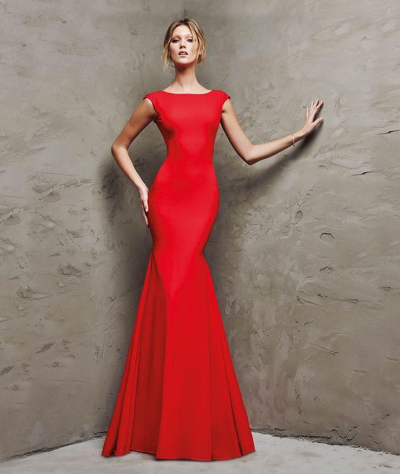 red mermaid dress classic