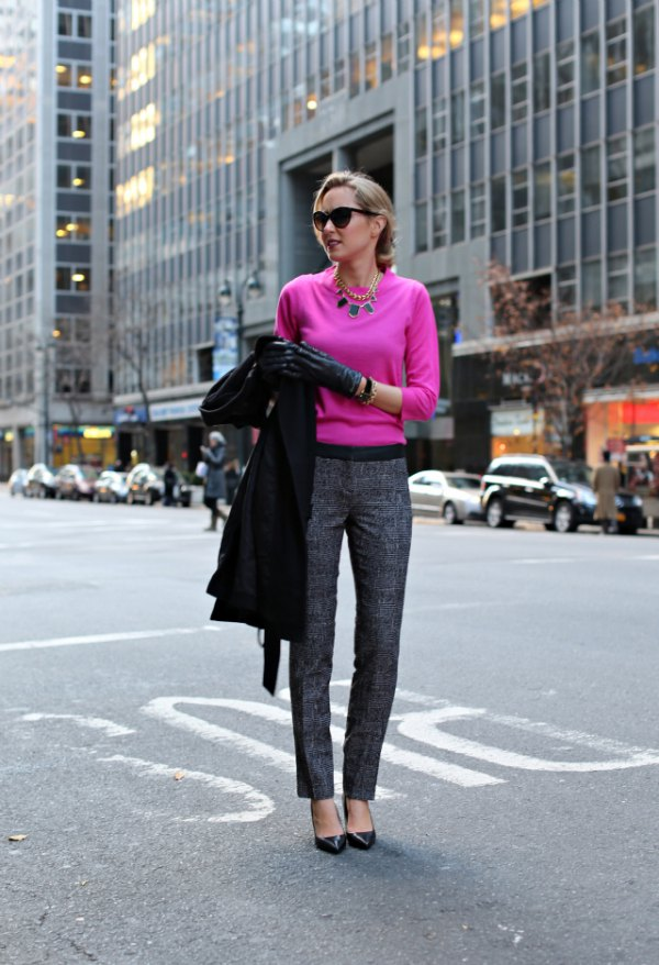 best tweed pants outfit ideas for women