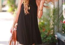 best black swing dress outfit ideas