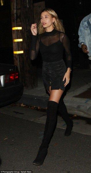 black mesh top button up wool skirt