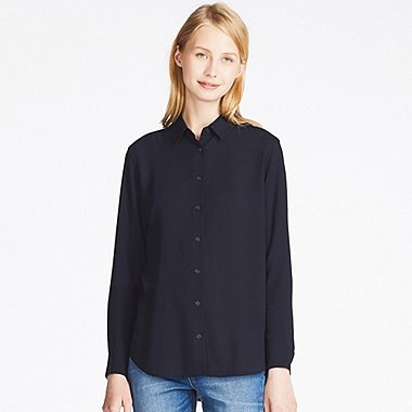 black rayon button up shirt blue jeans