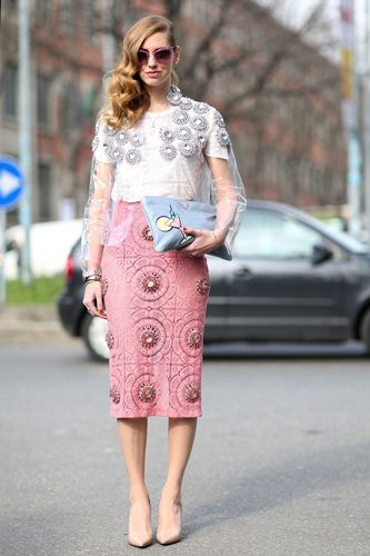 embellished top pastels