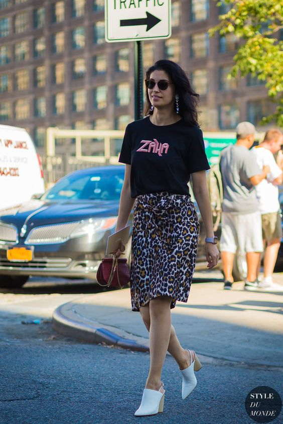 leopard print skirt mini