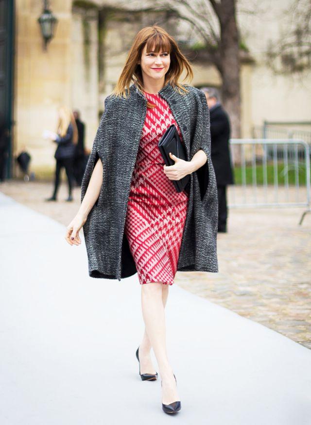 tweed dress matchy tweed