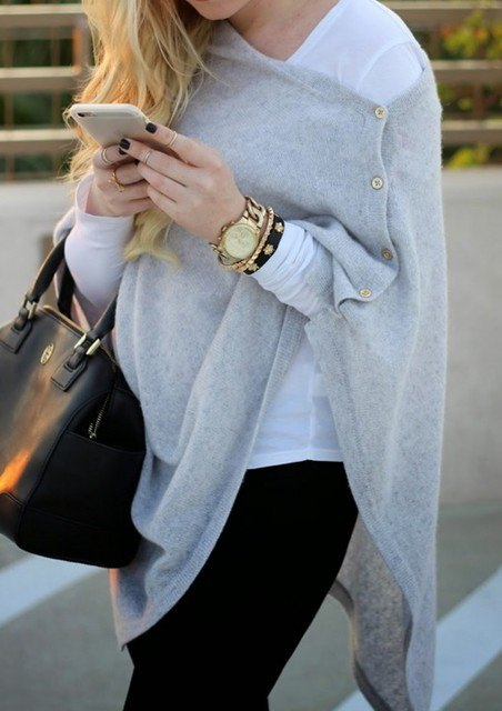 best cashmere wrap outfit ideas