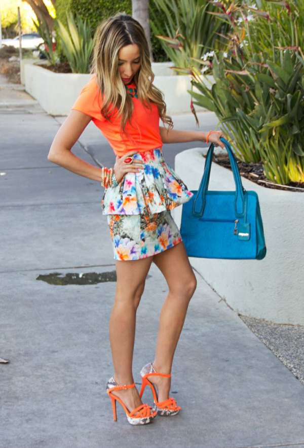 db97876bfa How to Style Peplum Skirt in 15 Chic & Gorgeous Outfits - FMag.com