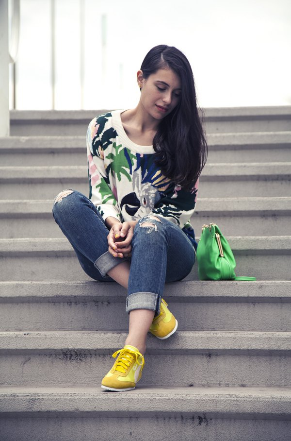 15 Chic Yellow Shoes Outfit Ideas for