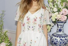 best floral embroidered dress outfit ideas