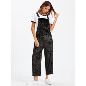 black overalls white t shirt sneakers