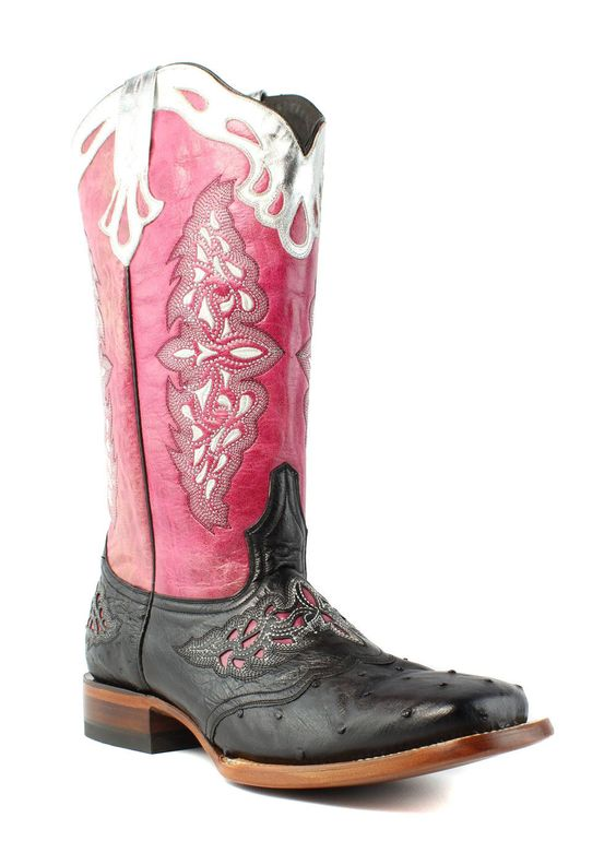 pink cowgirl boots edgy