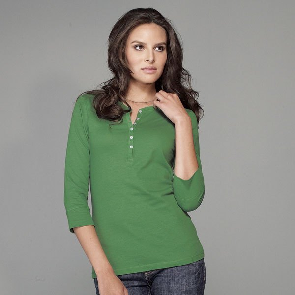 green henley shirt jeans