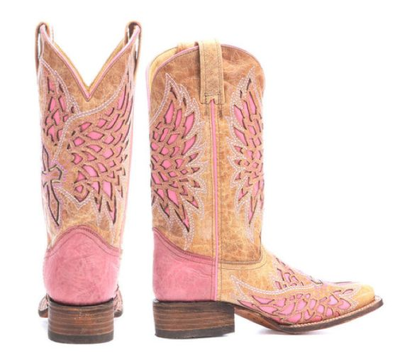 pink cowgirl boots romantic